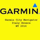 Garmin City Navigator Italy Greece NT 2016 Free Download