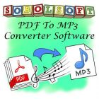 PDF To MP3 Converter Software v7 Free Download
