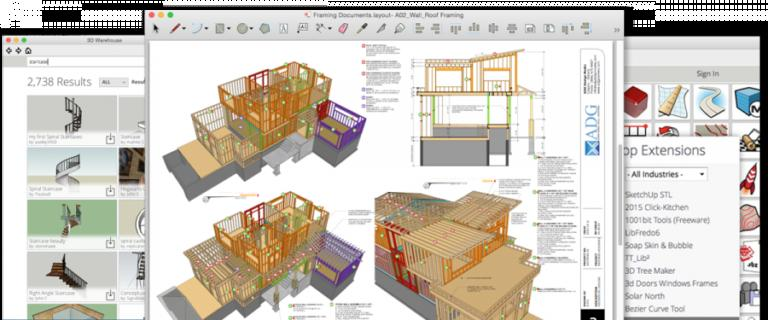 SketchUp-Pro-2016-16.1-1451-Latest-Version-Download-768x320
