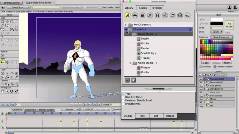 Buy Smith Micro Anime Studio Pro 7 64-Bit