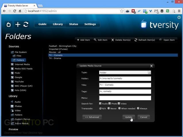 TVersity-Pro-Media-Server-Offline-Installer-Download_1
