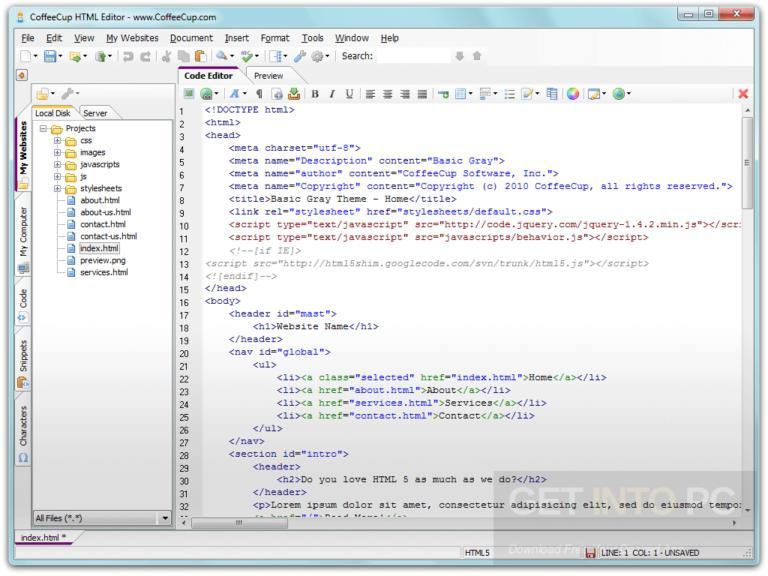 CoffeeCup-HTML-Editor-Offline-Installer-Download-768x576