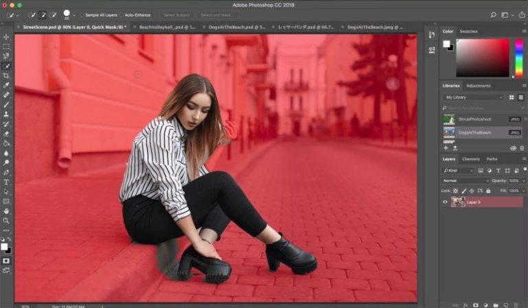 photoshop cc 2018 video editing