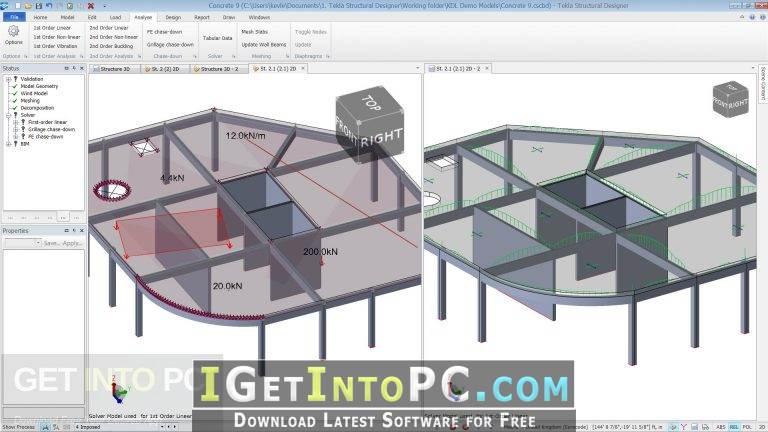Tekla Structural Designer 2018 Free Download