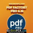 PdfFactory Pro 6.31 Free Download