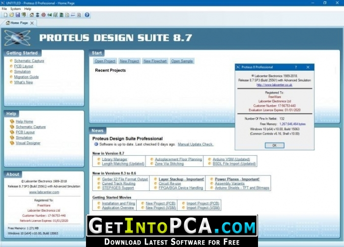 Proteus Professional 8 7 Sp3 Free Download