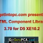 HTML Component Library 3.70 for D5 XE10.2 Free Download