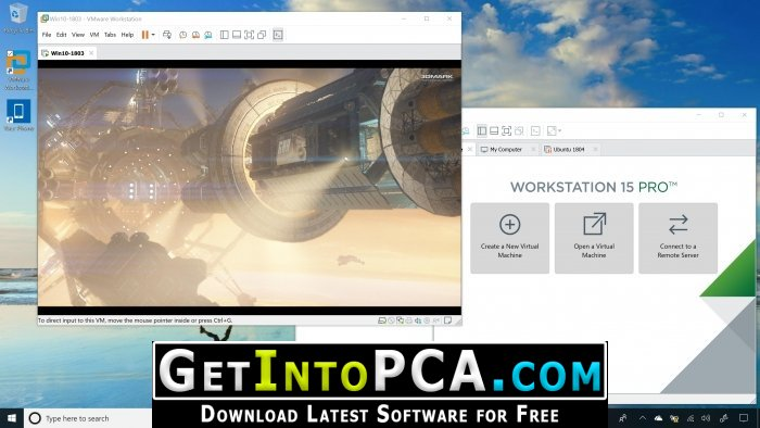 Get into PC » VMware Workstation Pro 15 Free Download