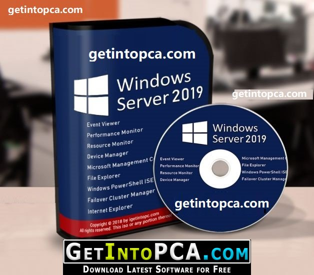 Microsoft Windows Server 2019 ISO Free Download