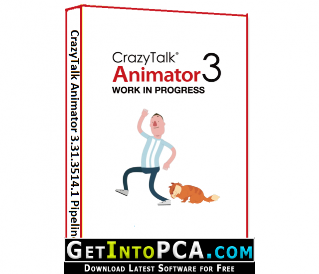 CrazyTalk Animator 3 31 3514 1 Pipeline Free Download with Resource Pack
