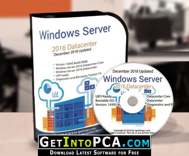 server 2016 msdn iso download