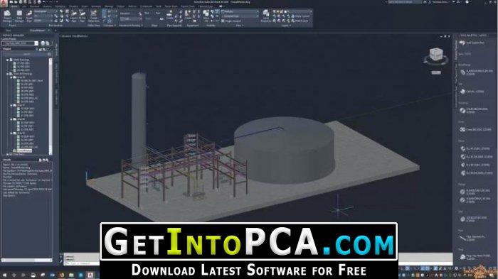 Autodesk AutoCAD Plant 3D 2020 Free Download