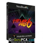 NewBlueFX Titler Pro 6 Ultimate Free Download
