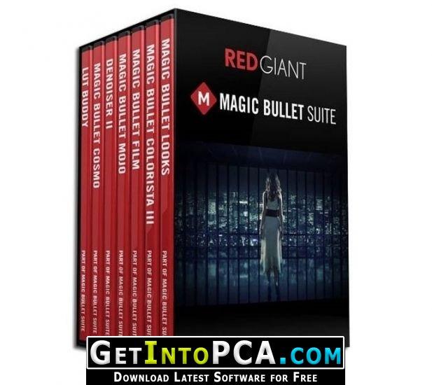 Download Red Giant Magic Bullet Suite 13 64-Bit