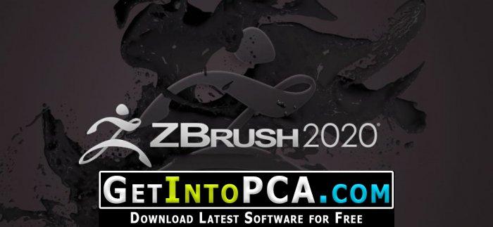 Zbrush 2020 Free Download